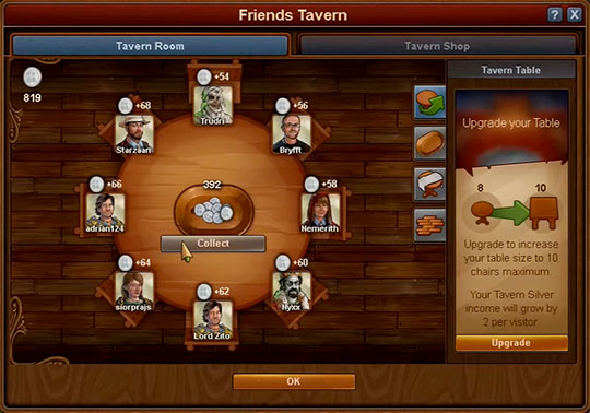 Forge of Empires - Taverne des Amis