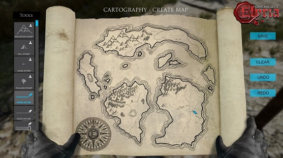 Chronicle of Elyria map
