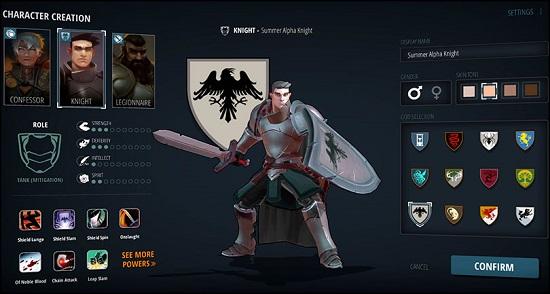 Crowfall la customisation des personnages