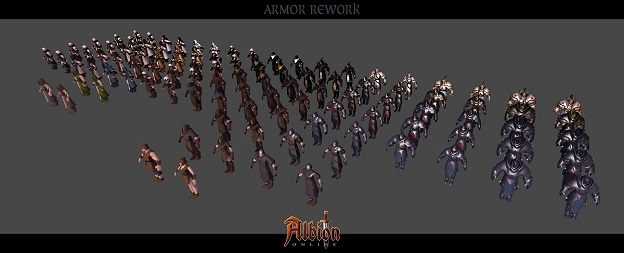 Albion Online relooking des armures