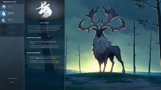 Northgard clan du Cerf