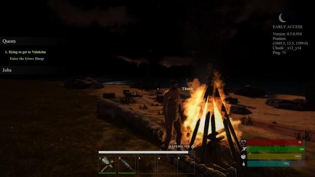 MMORPG valnir-rok feu
