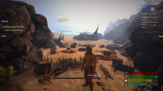MMORPG valnir-rok naufrage