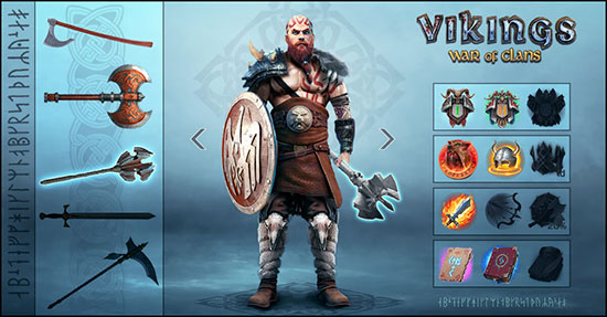 Vikings War of Clans - Stuff