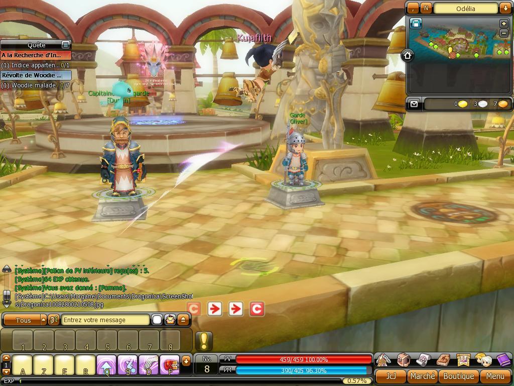 Dragonica - test du jeu dragonica sur jeux-mmorpg com
