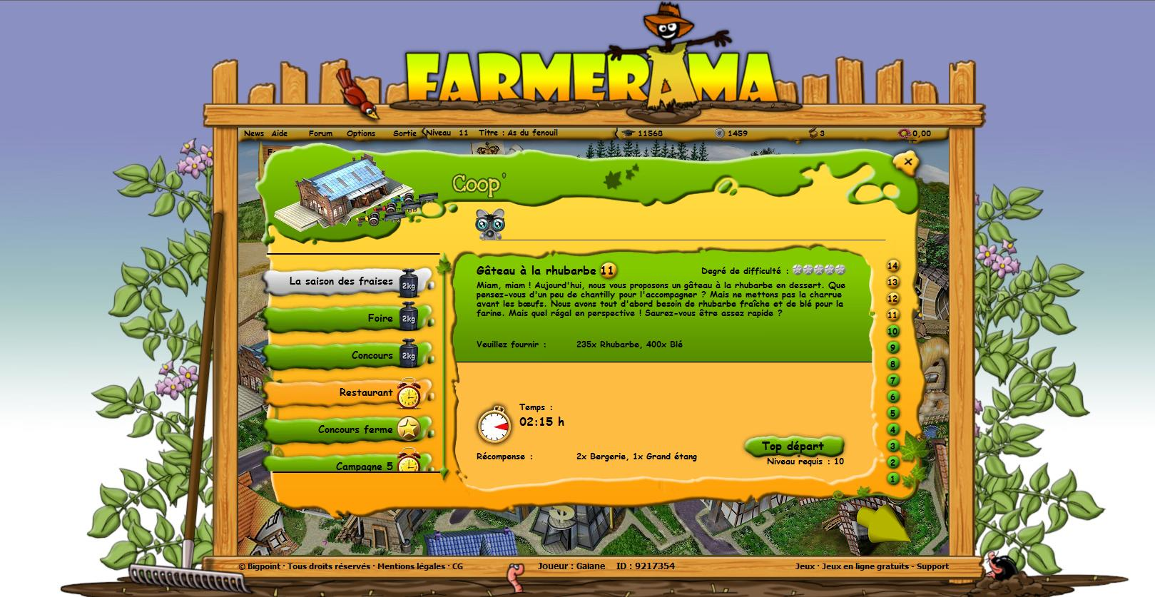 screeshot farmerama
