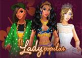 Jouer à Lady Popular